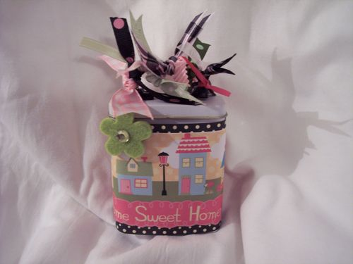 Address label gift tin 001