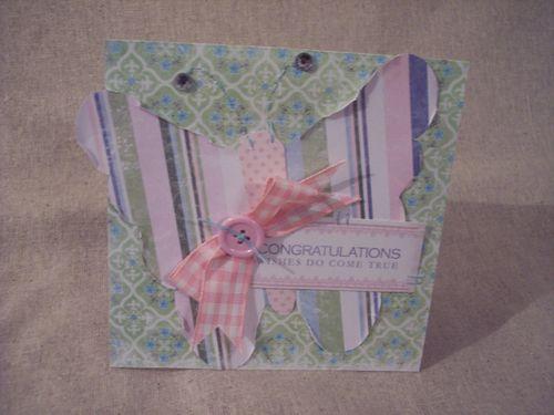 MF butterfly card